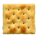 White Saltine Soda Cracker