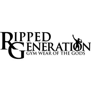 Ripped Generation Gym Wear of the Gods Logo