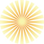 Golden Solar Rays