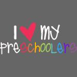 love my preschoolers teacher shirt