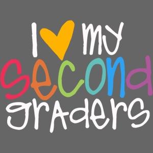 I Love My Second Graders Teacher Shirt