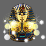Golden Mask of Egyptian Disco Ball
