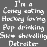 Design ~ Coney Eating Hockey Loving