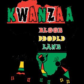 Happy Kwanzaa Black African American Holiday