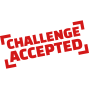 Challenge accepted T-Shirt | Spreadshirt