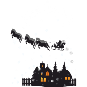 Santa - HoHo!Horse!
