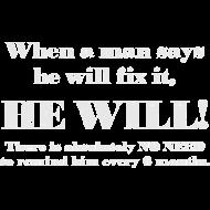 Design ~ Man will fix it