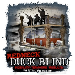 redneck duck blind