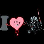 I heart Darth Vader