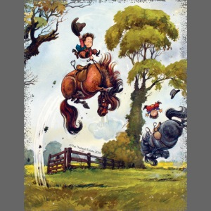 PonyRodeo Thelwell Cartoon