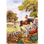 PonyTournament Thelwell Cartoon