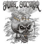 Fuel Sucker Racing Skull