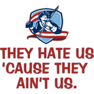 Design ~ They Hate Us 'Cause They Ain't Us.
