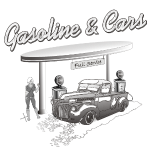 Vintage Car & Gasstation