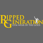 Ripped Generation Logo Gold