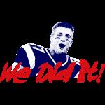 We Did it! Superbowl Champs Shirts Rob Gronkowski