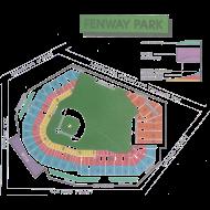 Design ~ Fenway Seating Chart