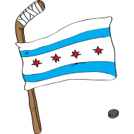 Design ~ Chicago Hockey Flag