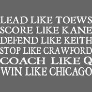 Design ~ Lead Like Toews, Score Like Kane