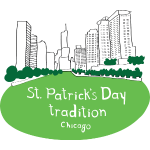 St. Patrick's Day Green River Chicago