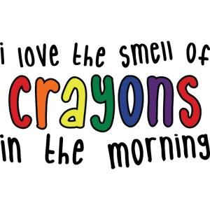 Crayons light