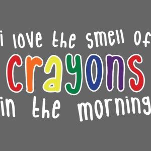 Crayons dark
