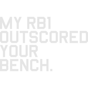My RB1 Outscored your Bench (Fantasy Football)