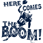 Here Comes The Boom, Gronk Spike Shirt Blue