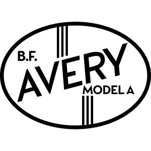 B.F. Avery Model A emblem - Autonaut.com