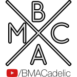BMACadelic YT Logo (Black Text)