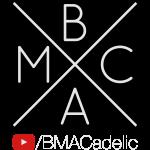 BMACadelic YT Logo (White Text)