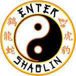 Enter Shaolin Main Logo 4 Light Colors