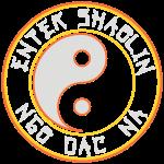 Enter Shaolin Ngo Dac Na Logo 4 Dark Colors