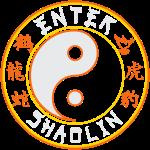 Enter Shaolin Main Logo 4 Dark Colors
