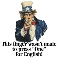 Design ~ Uncle Sam - Finger