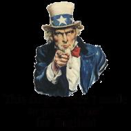 Design ~ Uncle Sam - Finger
