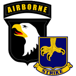 101st Airbrne 502nd Infantry Strike