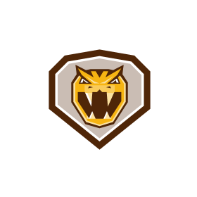 Angry Horned Viper Crest Retro