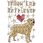 Geometric Yellow Lab Retriever