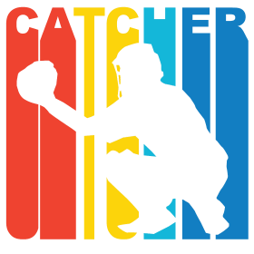 Retro Baseball Catcher