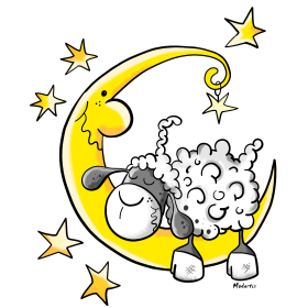 Sheep in the Moon