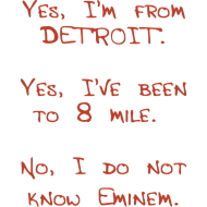 Design ~ Yes, I'm From Detroit.