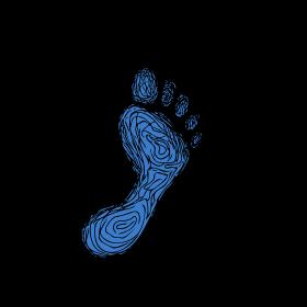 Footprint Drawing