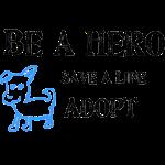 Be A Hero: Save a Life, Adopt Blue Dog