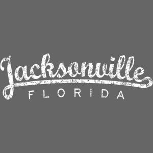 Jacksonville, Florida (Vintage White)