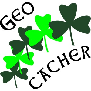 Geocacher Shamrocks
