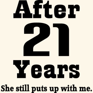 21st Wedding Anniversary.21st Anniversary Funny Husband Mug Gift Coffee Tea Mug