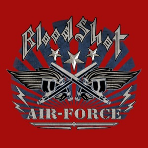 BloodShot Air Force with black