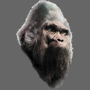 Sasquatch Bigfoot Vintage Portrait