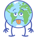 Poor Earth feeling exhausted